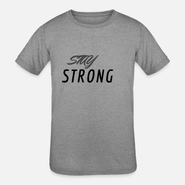 STAY STRONG - Kids' Tri-Blend T-Shirt