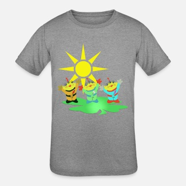 Buddy Dance Three buddies - Kids' Tri-Blend T-Shirt