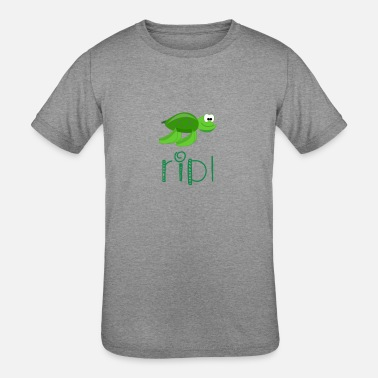 Squirt Turtle squirt - Kids' Tri-Blend T-Shirt