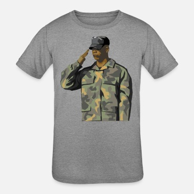 Us Army US Soldier America US Army - Kids' Tri-Blend T-Shirt