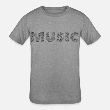 Abstract Music abstract music - Kids' Tri-Blend T-Shirt
