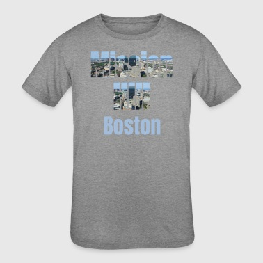Usa Tourist Mission Hill Boston, USA Country, City Neigborhood Tourist Gifts - Kid's Tri-Blend T-Shirt