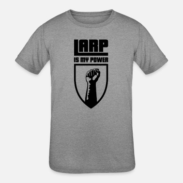 Larp Is My Power Roleplay - Kids' Tri-Blend T-Shirt
