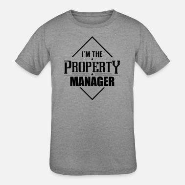Manager House Property Management Manager Properties Team - Kids' Tri-Blend T-Shirt