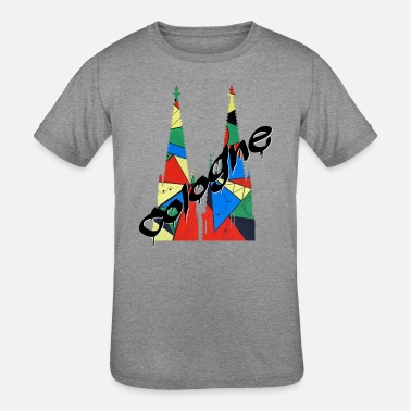 Cologne Cathedral Cologne - Kids' Tri-Blend T-Shirt