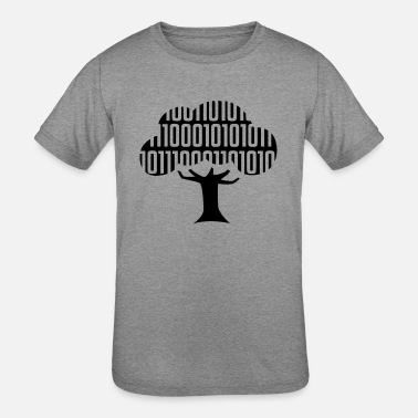 Binary Computer Science Binary Tree - Kids' Tri-Blend T-Shirt