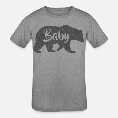 Washed-out baby baer washed out - Kids' Tri-Blend T-Shirt