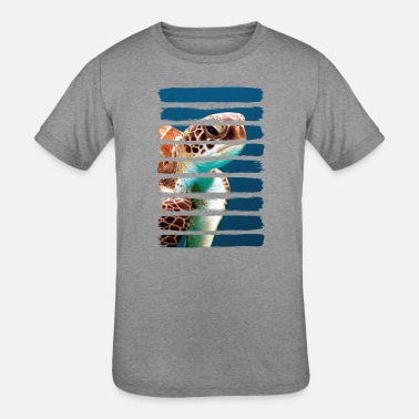 Turtle T Shirt - Kids' Tri-Blend T-Shirt