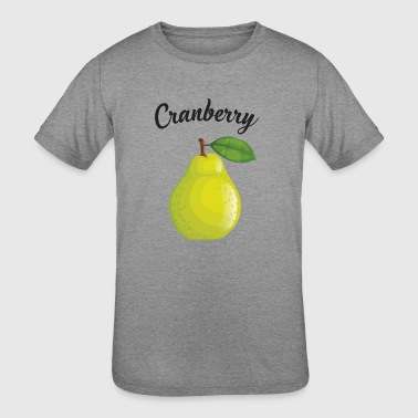 Clumsy Cranberry - Kid's Tri-Blend T-Shirt