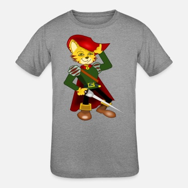 Puss In Boots Puss in Boots - Kids' Tri-Blend T-Shirt