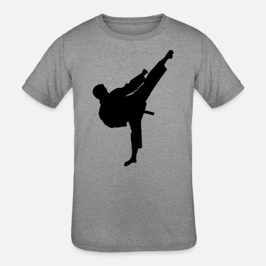 Kicker Kicker (male) - Kids' Tri-Blend T-Shirt