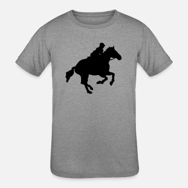Gallop gallop - Kids' Tri-Blend T-Shirt