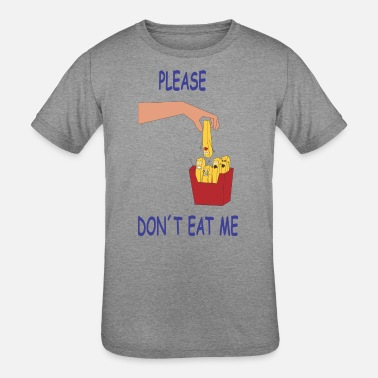 DON T EAT ME FF - Kids' Tri-Blend T-Shirt