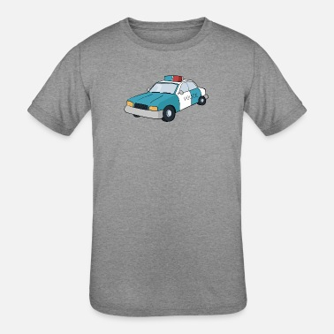 Police Cars police car - Kids' Tri-Blend T-Shirt