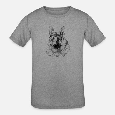 German Shepherd German shepherd - Kids' Tri-Blend T-Shirt