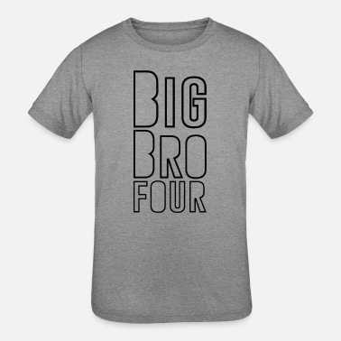 The Big Four Big Brother Four shirt - Kids' Tri-Blend T-Shirt