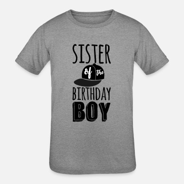 Customized Birthday Sister Of The Boy Custom Shirt