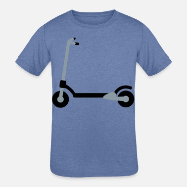 Scooter a scooter - Kids' Tri-Blend T-Shirt