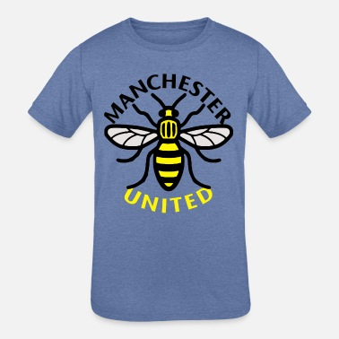 Manchester manchester united bee - Kids' Tri-Blend T-Shirt