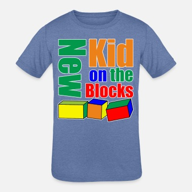 Neighborhood Kids New Kid on the Blocks - Kids' Tri-Blend T-Shirt