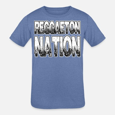 Reggaeton Reggaeton Nation - Kids' Tri-Blend T-Shirt