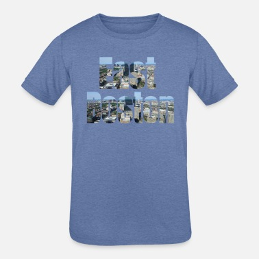 East Boston East Boston, USA Country, City Neigborhood Tourist Gifts - Kids' Tri-Blend T-Shirt