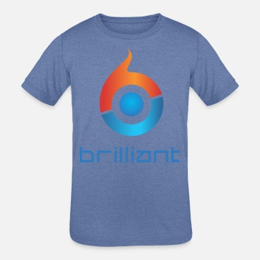Brilliant Brilliant - Kids' Tri-Blend T-Shirt
