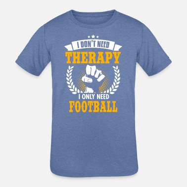 Sports Football - Kids' Tri-Blend T-Shirt