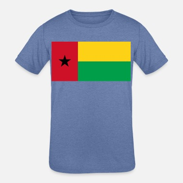 Guinea-Bissau country flag love my land patriot - Kids' Tri-Blend T-Shirt