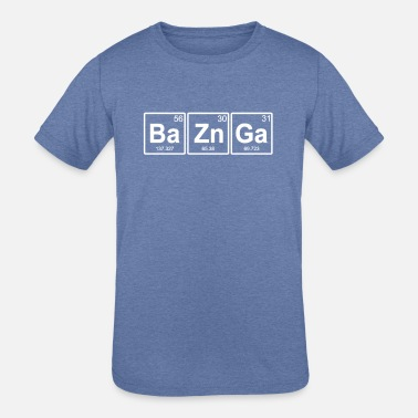 Ba Zn Ga Periodic Table Elements - Kids' Tri-Blend T-Shirt