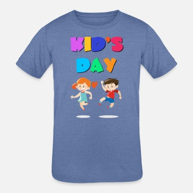 Kids Day Of The Dead Kid s day 1 - Kids' Tri-Blend T-Shirt