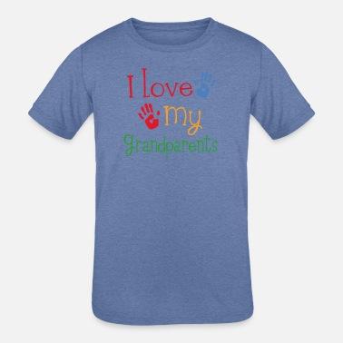 My Grandpa in Washington Loves Me Toddler//Kids Short Sleeve T-Shirt