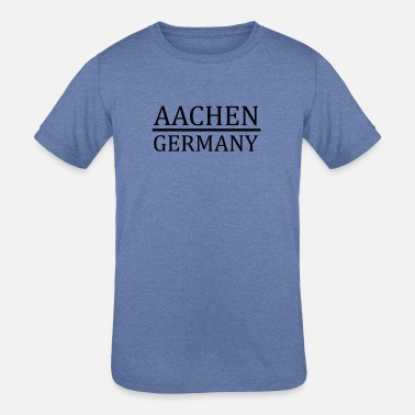 Aachen Aachen - Germany - Kids' Tri-Blend T-Shirt
