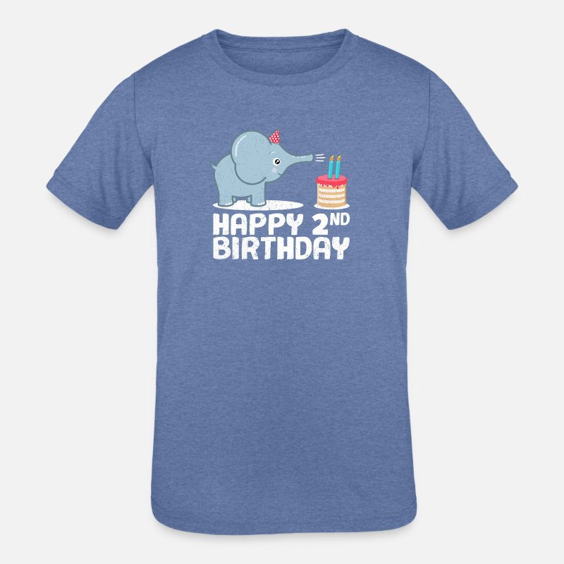 Shop Happy 2nd Birthday T Shirts Online