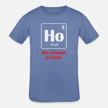 the element of santa - Kids' Tri-Blend T-Shirt