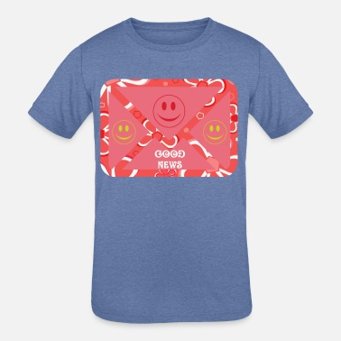 Positively Be Positive - Kids' Tri-Blend T-Shirt