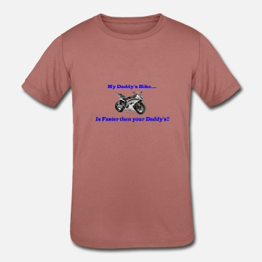 Kids Bike Sport Bike for Kids - Kids' Tri-Blend T-Shirt
