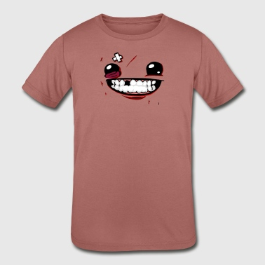 Super Meat Boy Super Meat Boy - Kid's Tri-Blend T-Shirt