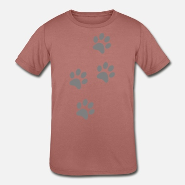 Pawprint Kids pawprints - Kids' Tri-Blend T-Shirt