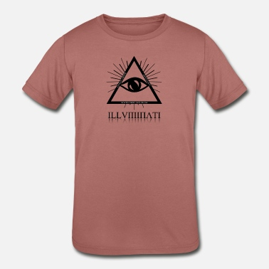 Illuminati 6 - Kids' Tri-Blend T-Shirt