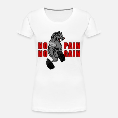 Gains NO PAIN NO GAIN - Women's Organic T-Shirt