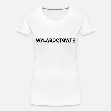 Bowl of Cream - Women's Organic T-Shirt