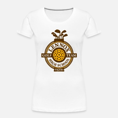 Lennox Lennox Golf Team High School Tigers - Women's Organic T-Shirt