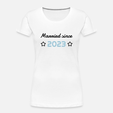 2023 Marriage Mariage Wedding Anniversary 2023 - Women's Organic T-Shirt