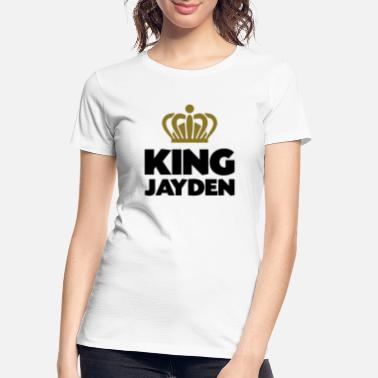 Jayden King jayden name thing crown - Women's Organic T-Shirt