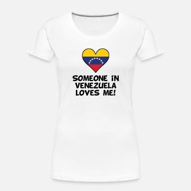 I Love Heart Venezuela Ladies T-Shirt