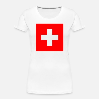 Red Cross Red Cross - Women's Organic T-Shirt