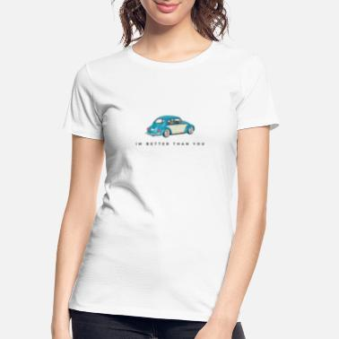 Gas Station Beetle People - Women's Organic T-Shirt
