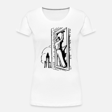 Window Window washer - Women's Organic T-Shirt