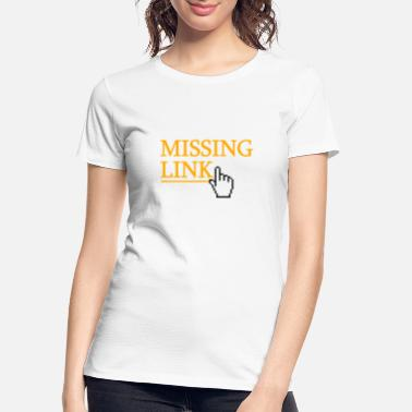 Tablet missing link - Women's Organic T-Shirt
